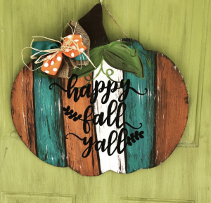 Happy Fall, Y'all – Door Hangers for Autumn!