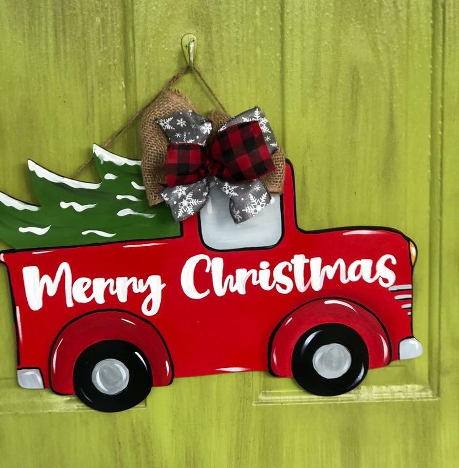 Santa Truck Hanger