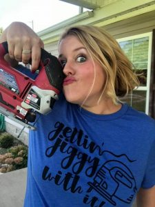 Gettin Jiggy with It Jigsaw Cutting Tamara Bennett of Southern ADOORnments