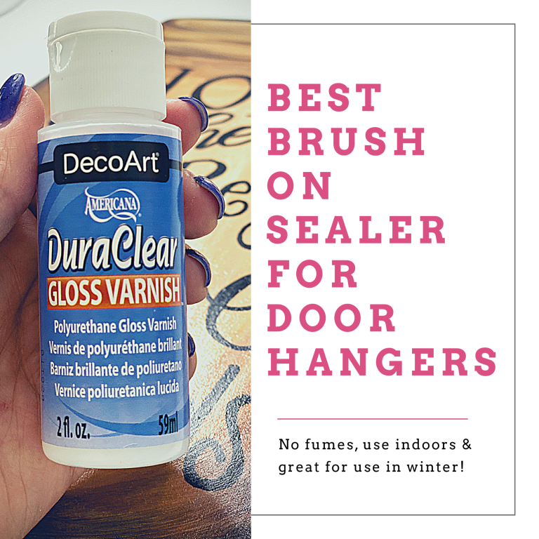 DecoArt DuraClear Gloss Varnish Door Hanger Sealant by Southern ADOORnments