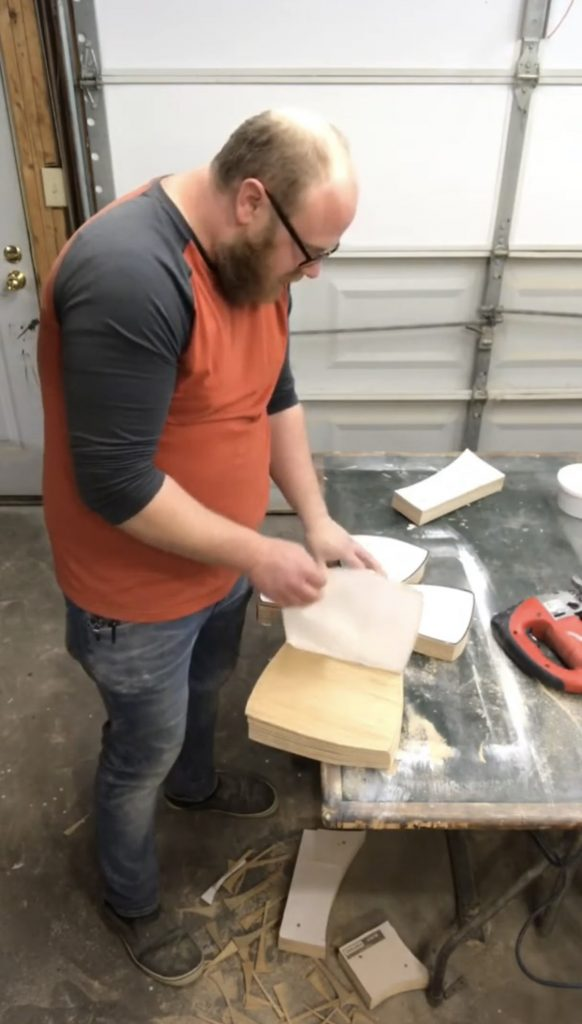 southern a-doorn-ments decor - how to cut wooden door hangers batch 3