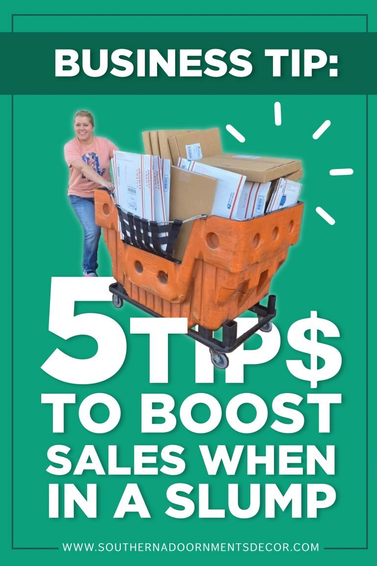 Business Tip - How to boost sales and sell more door hangers by Southern A-DOOR-nments