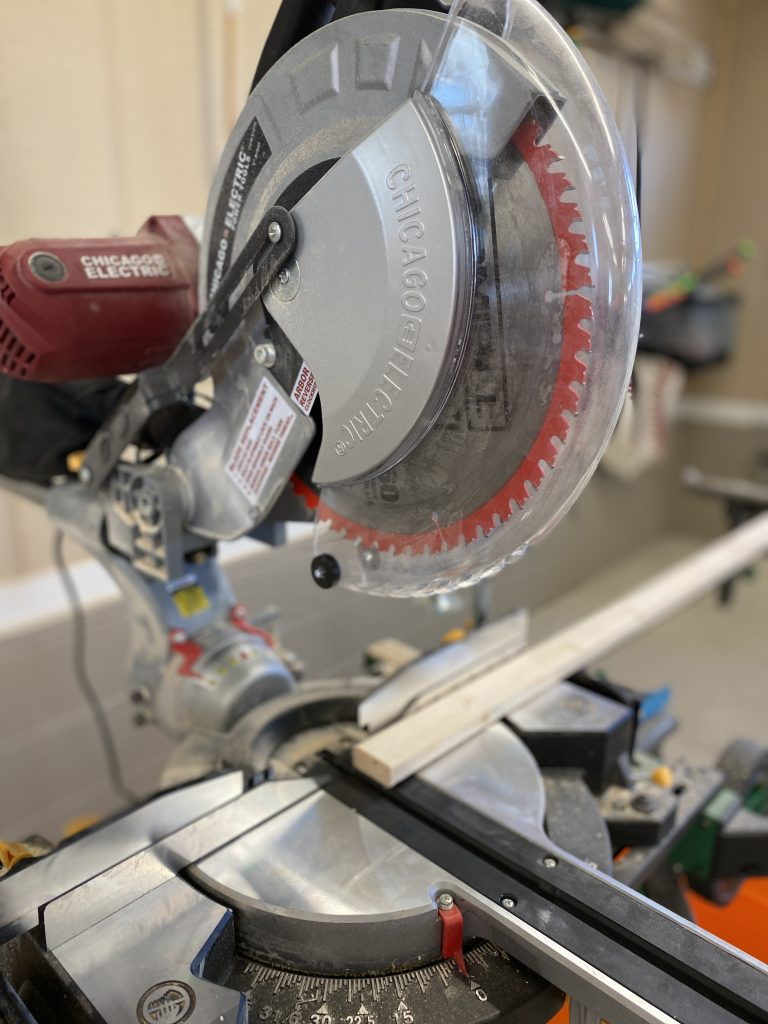 Chicago Electric Circular Saw for DIY Farmhouse Signs by Southern ADOOrnments