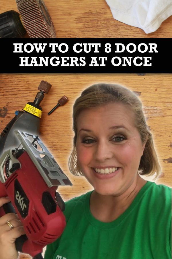 How To Batch Cut 8 Door Hangers at Once for Paint Parties Business by Southern ADOORnments