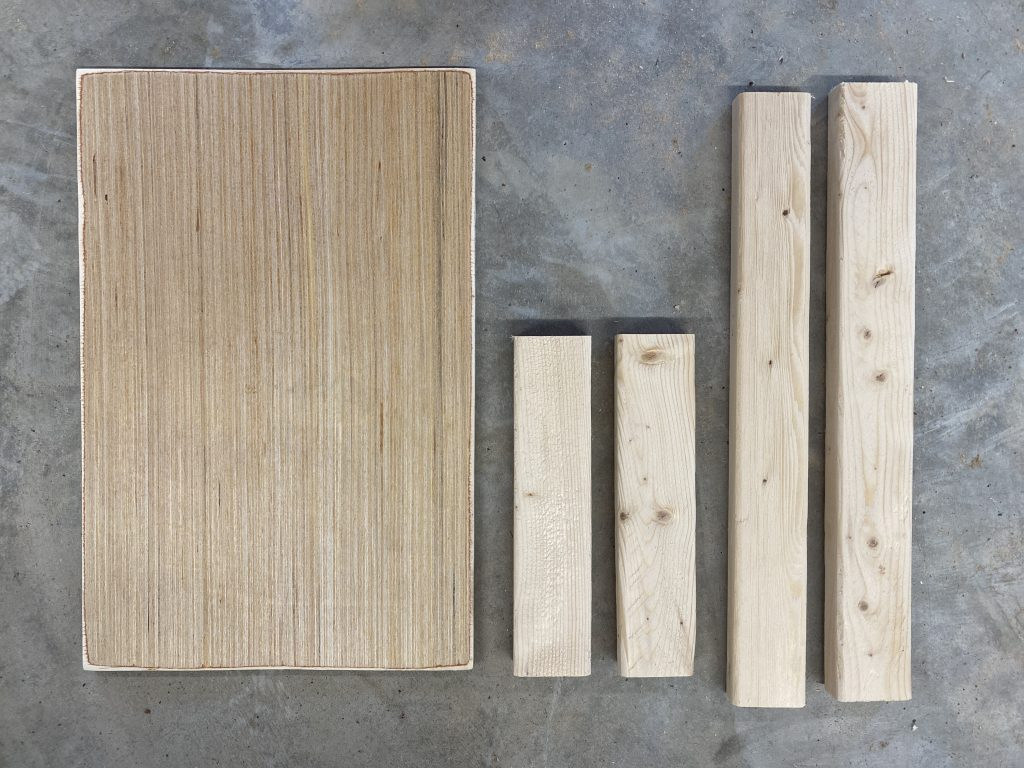 Wood Cuts Supplies for DIY Wooden Farmhouse Signs by Southern ADOORnments