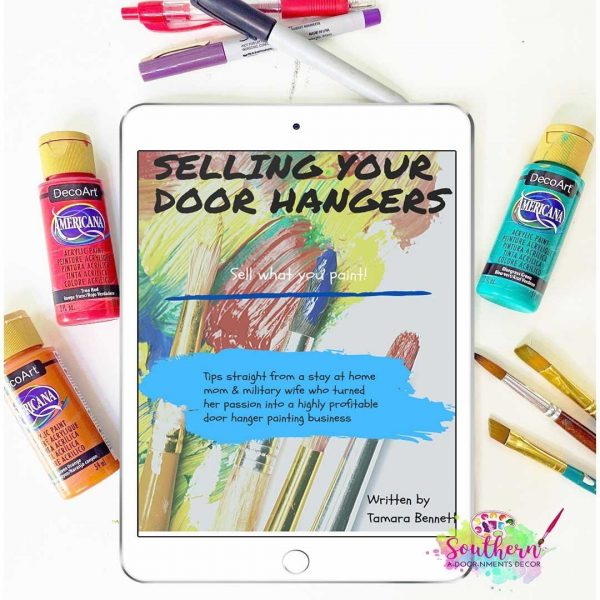 How to Sell Door Hangers Business eBook Tutorial by Tamara Bennett of Southern ADOORnments