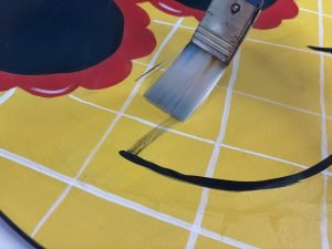 Paintbrush Smudged Paint Fix Hack by Southern A-DOOR-nments