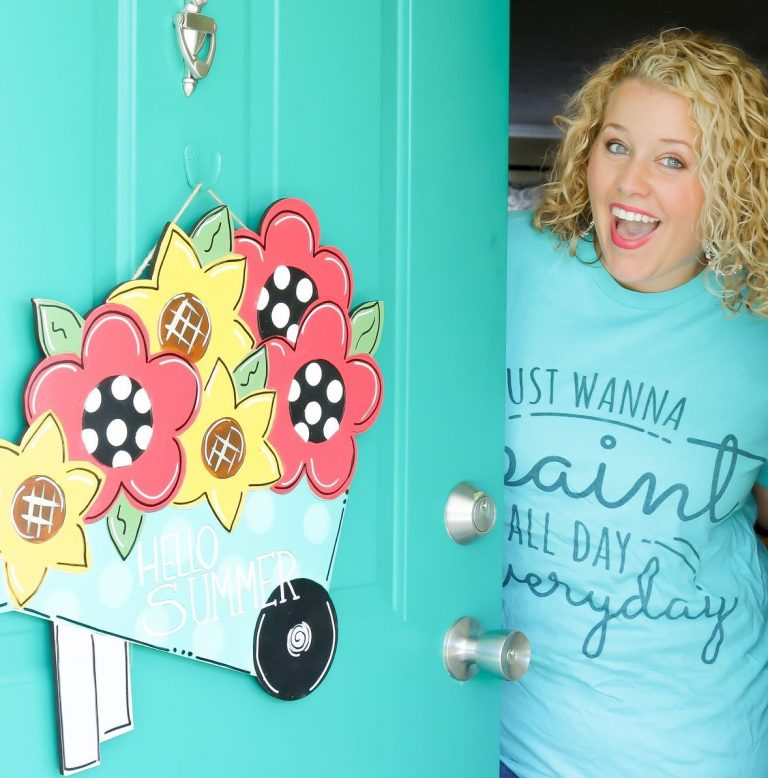 What is a Door Hanger?? Learn How to Paint One With Our DIY Tips!