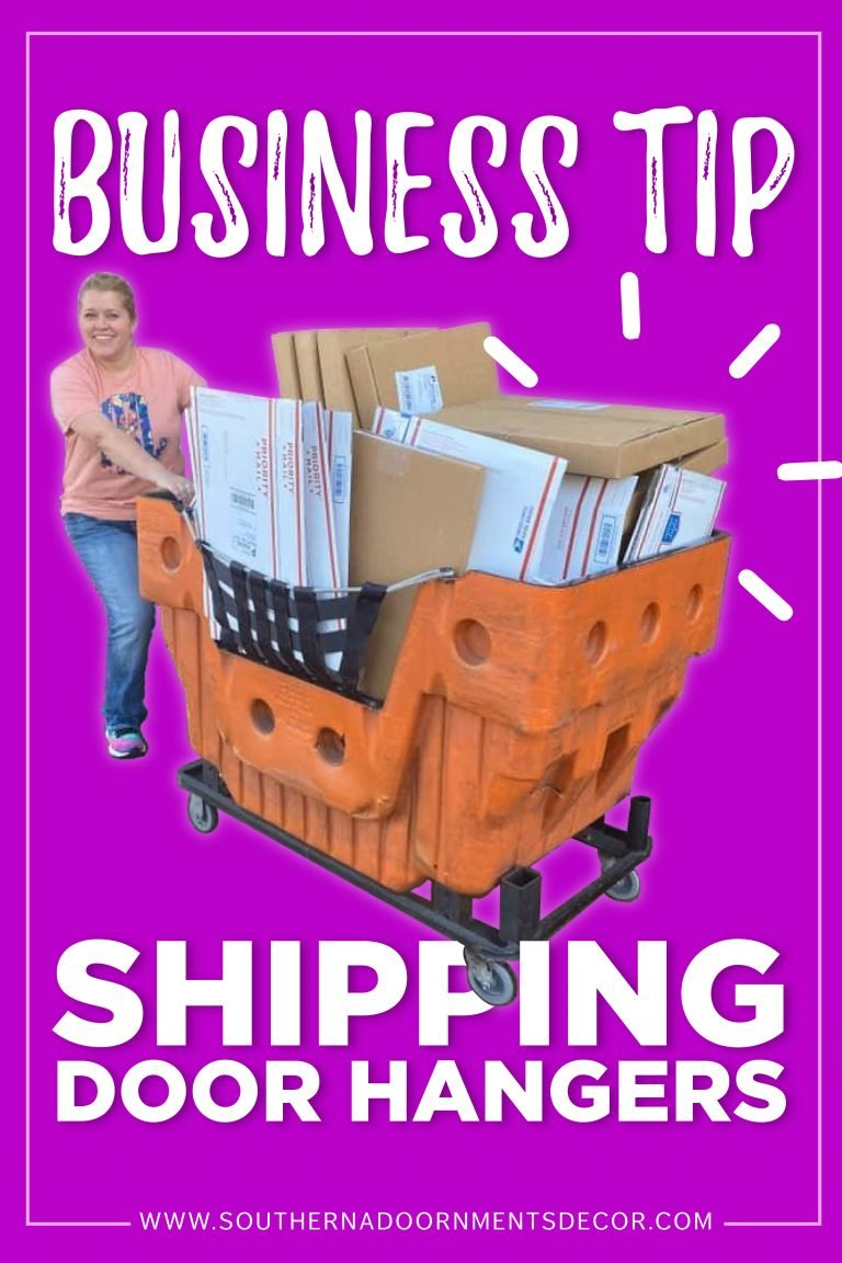Learn How to Ship Door Hangers - Shipping Business Tip by Southern A-DOOR-nments