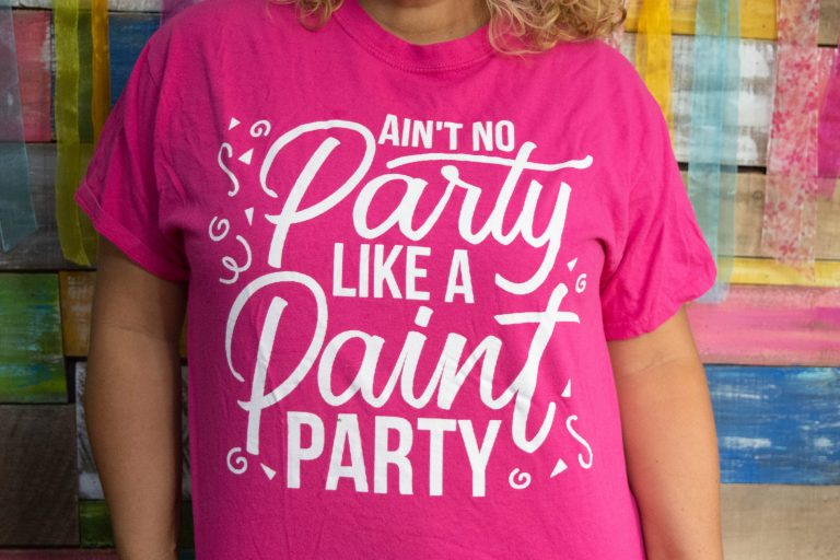 The Ain't No Party Like a Paint Party Shirt