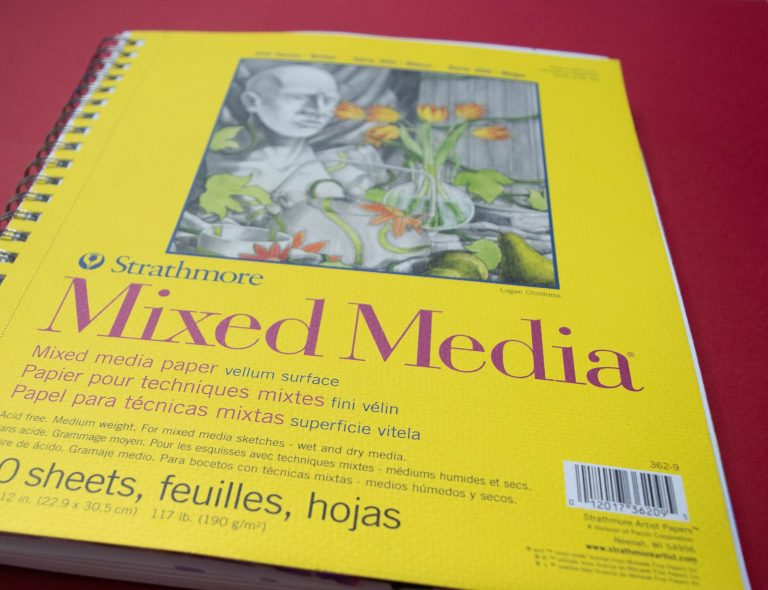 Mixed Media Paper Book